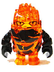 rock monster firax trans-orange black arms