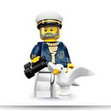71001 Series 10 Minifigure Sea Captain