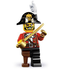 lego minifigures series pirate captain yarr
