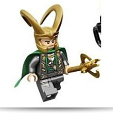 Marvel Super Heroes Loki Minifigure