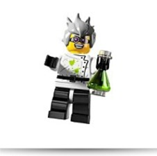 Minifigure Series 4 Mad Scientist