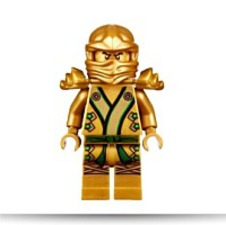 Ninjago 2013 Final Battle Gold Lloyd