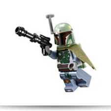 Star Wars Boba Fett Minifigure 9496