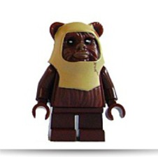 Star Wars Ewok Paploo Minifigure