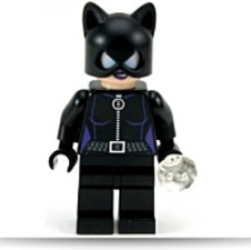 Super Heroes Cat Woman Minifigure