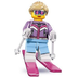 lego minifigures series downhill skier all-new