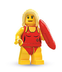 lego minifigures series lifeguard just yell