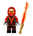 lego ninjago minifigure final battle suit