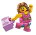 lego minifigures series fitness instructor minifigure