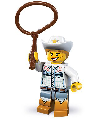 Lego Minifigures Series 8 - Cowgirl