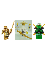 Ninjago Minifigure Lot Of 3