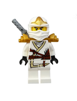 Ninjago Zane Zx Minifigure With Armor
