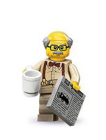 Series 10 Minifigure Grandpa